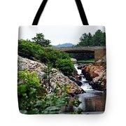 Whitefish Falls Tote Bag