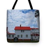 Whitefish Point Lighthouse I Tote Bag