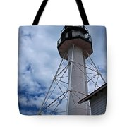 Whitefish Point Lighthouse II Tote Bag