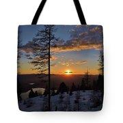 Whitefish Sunset Tote Bag