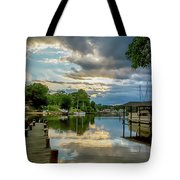 White's Cove Reflections Tote Bag