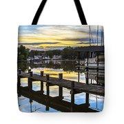 White's Cove Sunset Tote Bag