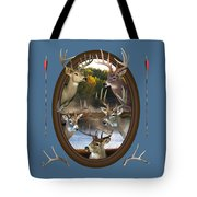 Whitetail Dreams Tote Bag by Shane Bechler