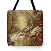 Whitetail Hideaway Tote Bag