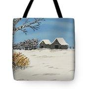 Winter Deer  Lookout Tote Bag