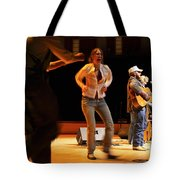 Whitetop Mountain Band In Concert Tote Bag