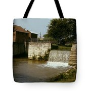 Whitewater Canal Locks Metamora Indiana Tote Bag