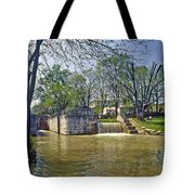 Whitewater Canal Metamora Indiana Tote Bag