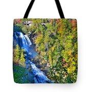 Whitewater Falls North Carolina Tote Bag
