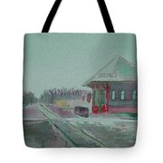 Whitewater Rail Station Tote Bag