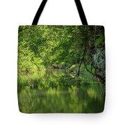 Whitewater River Scene 50 Tote Bag