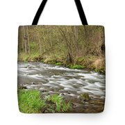 Whitewater River Spring 44 Tote Bag