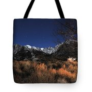 Whitney Campground View Tote Bag