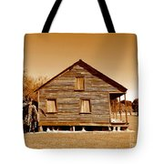 Whitney Plantation Slave Cabin In Wallace Louisiana Tote Bag