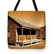 Whitney Plantation Slave Cabins Tote Bag