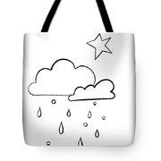 Whitr Sky Tote Bag