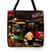 Who Goes First Tote Bag