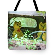 Who Has Been Driving My Truck Tote Bag