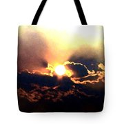 Who Has Kissed The Sun Tote Bag
