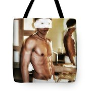 Who Is That Masked Man? It's Mr Tote Bag