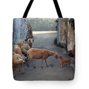 Who Is The Boss Tote Bag
