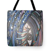 Who Is Watching Me Tote Bag