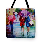 Who Loves Shopping Tote Bag