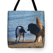Who Ruffled Your Feathers Tote Bag