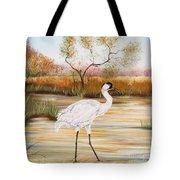 Whooping Cranes-jp3156 Tote Bag