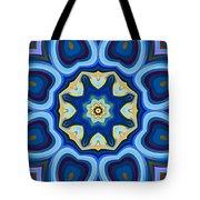 Whorl Kaleidoscope Tote Bag