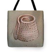 Whorl - Shell With Polka Dot Pattern - Sketch Tote Bag