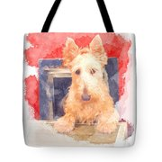 Whos That Dog In The Window? Tote Bag