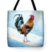 Why Did The Chicken... Tote Bag