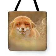 Why So Serious - Funny Fox Tote Bag