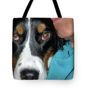 Why The Long Face Tote Bag