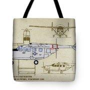 Wi Ang Skymaster Profile Tote Bag