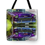 Wicked 1955 Chevy - Reflection Tote Bag
