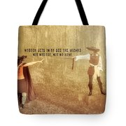 Wicked Quote Tote Bag
