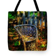 Wicker Chair Tote Bag