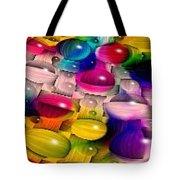 Wicker Marble Rainbow Fractal 2 Tote Bag