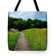 Wide Angle Landscape Tote Bag