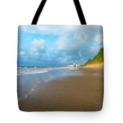 Wide Beach And Nature Tote Bag