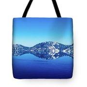 Wide Crater Lake Tote Bag