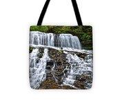 Wide Flowing Falls Tote Bag