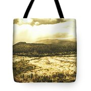 Wide Open Tasmania Countryside Tote Bag