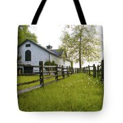 Widener Farms Horse Stable Tote Bag