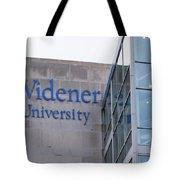 Widener University - Metropoliton Hall Tote Bag