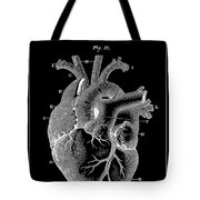 Widow Maker Heart 2 Tote Bag