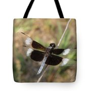 Widow Skimmer Dragonfly Male Tote Bag