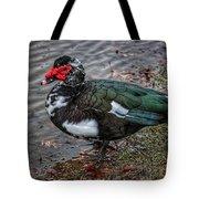 Wierd Muscovy Duck Tote Bag
